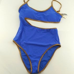 NEW Aerie Full Coverage Cut Out Swimsuit
